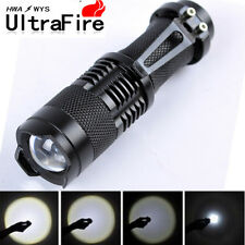 Ultrafire Tactical 20000Lumens LED Flashlight Torch Lamp XM-L T6 Zoomable 14500