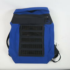 New O-Range Large 18L Backpack with Full Solar Panel Made in Italy Blue $395 002