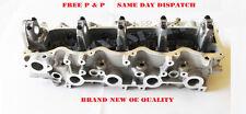 Motor Zylinderkopf blank für Mazda B2500 Pick Up - 2.5TD - WL - 12V 1998-2005