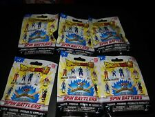 New Lot of 6 Sealed Dragon Ball Super Spin Battlers Single Blind Packs Series 1