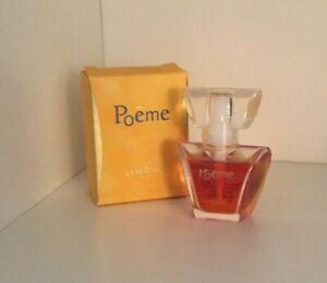 NIB Vintage Lancome Poeme mini perfume  0.23 fl. oz. Collectible Eau de Parfum