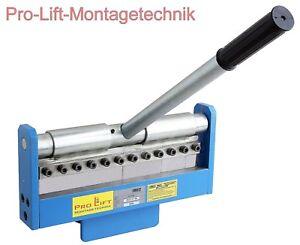 Abkantmaschine Abkantbank Blechbiegemaschine Abkantpresse 300mm FM012J 02287