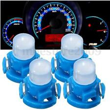 4x T4 Neo Wedge Climate Base LED Cluster Instrument Dash Bulb Light Lamp Blue