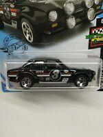 "Hot Wheels 2019 #102//250 1970 FORD ESCORT RS1600 black /""Gum Ball 3000/"" @L"