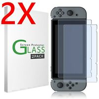 2X Premium Real Tempered Glass Screen Protector Guard Shield For Nintendo Switch