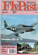 Flypast Magazine 1991 February Avro Lancastrian,P-51 Mustang,Gloster Javelin,DC3
