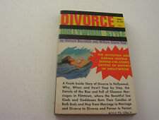 DIVORCE - HOLLYWOOD STYLE  1966   GLAMOUR MARRIAGES THAT BURN OUT FROM HOT SEX