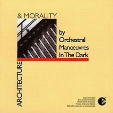 "O.M.D. ""architecture and Morality"" CD NEUF"