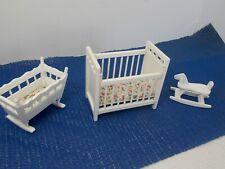 Melissa & Doug Dollhouse Furniture Nursery Set 3 Pieces