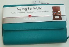 "Mundi ""My Big Fat Wallet"" WALLET ORGANIZER,Teal"
