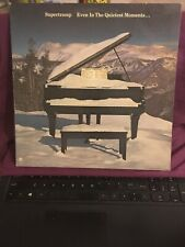 Supertramp Even in the Quietest Moments LP 1977 A&M Records, SP-4634