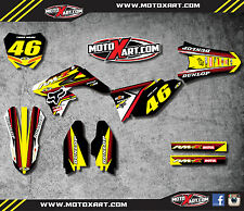 Full Custom Graphic  Kit - SPEEDER STYLE - SUZUKI RMZ 250 / 2010 - 2016 stickers