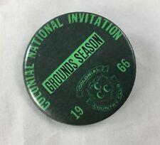 Orig Colonial Invitation Fort Worth Golf Tournament Badge Pin Ground Season 1966