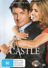 CASTLE (COMPLETE SEASON 5 DVD SET - SEALED + FREE POST)