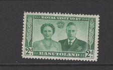 BASUTOLAND 1947 2d GREEN ROYAL VISIT Mint Never Hinged