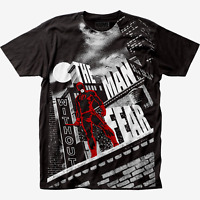 Adult Unisex Marvel Daredevil Man Without Fear T-shirt -Available in Sm to xxL