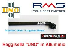0271 - Canotto/Tubo Reggisella UNO D-31,6mm Alluminio Nero per Bici MTB Mountain