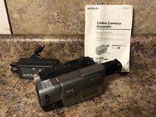 Sony Ccd-Trv57 Handycam Vision 360X Digital Zoom Video Camera (Tested)