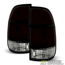 Smoked 2000-2004 Toyota Tundra Tail Lights Left+Right 00 01 02 03 04 OE Style