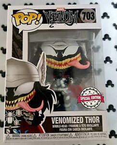 Funko Pop Marvel Venom 703 Venomized Thor Avengers Vinyl Figure