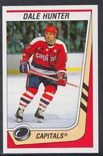 Panini 1989-1990 NHL Ice Hockey Sticker No 346 - Dale Hunter - Capitals