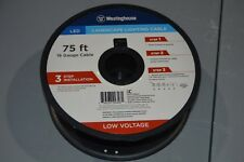 New listing Westinghouse 75 ft. 18-Gauge Low Voltage Cable Landscape Lighting Wire