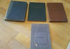 LOT OF 3 VINTAGE/ ANTIQUE BOOKS MANUAL SUBORDINATE GRANGES PATRONS OF HUSBANDRY