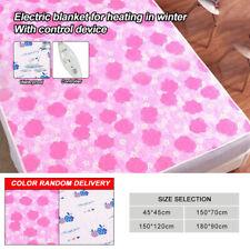 Electric Blanket Heated Washable Under Luxury Single Double King Size Bed 220V