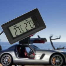 Auto Car LCD Digital Display Indoor Outdoor Thermometer Meter With 1.5m Cable