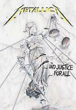 Metallica justice  'DELUXE' Textile Poster Flag