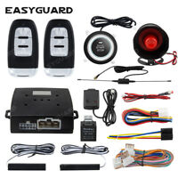 EASYGUARD pke car anti theft alarm push start stop remote start shock sensor