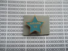 Hard Rock Cafe Ankara 1998 - Grand Opening - Training Star STAFF Member Pin