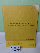 HEATHKIT HEATH ASSEMBLY MANUAL BOOK GR-121 CLOCK RADIO