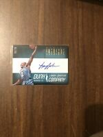 2012-13 Panini Intrigue Dunk Company Larry Johnson Hornets Autograph # 59/75
