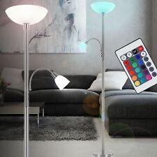Design Stehlampe dimmbar Standleuchte LED Deckenfluter 10,5 Watt DxH 30x181 cm