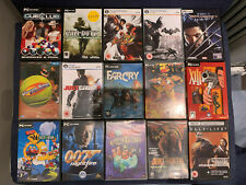 PC CD / DVD MEGA 15 Game Bundle - COD, XIII, Batman, Just Cause, Far Cry ++