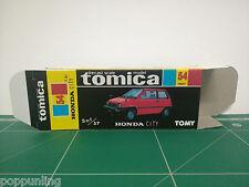 REPRODUCTION BOX for Tomica Black Box No.54 Honda City