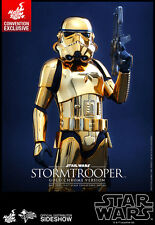 Convention 2016 Exclusive Hot Toys 1/6 Star Wars Gold Chrome Stormtrooper NEW