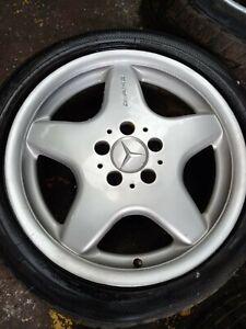 "AMG Mercedes benz SLK 17"" Alloy Wheel W170 S HWA1704010102"
