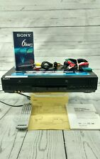 Sony SLV-D281P DVD/VCR Combo VHS Hi-Fi Recorder w/ Remote & Cables - Tested