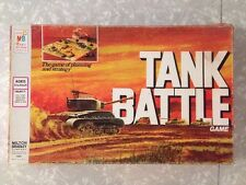 Tank Battle Vintage War Board Game Milton Bradley 1975 Nearly Complete