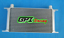 GPI Racing Universal 19 Row Engine Transmission 10-AN Oil Cooler oilcooler