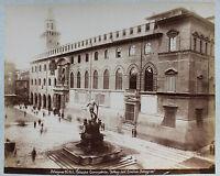 Bologna Italia Foto Dell'Emilia Bologna Vintage Albume-Albume Ca 1880