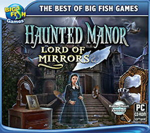 Haunted Manor Lord of Mirrors  a PC Hidden Object Adventure  NEW  Win 7 8 10
