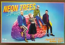 Music Poster Promo Neon Trees ~ Pop Psychology - DS Double Sided
