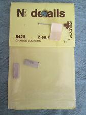 Detail Assoc. N Scale #8428 Lockers