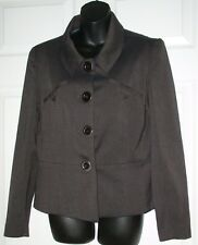FYLO by Nylon Cute Charcoal Gray Jacket /Blazer 10 / 12