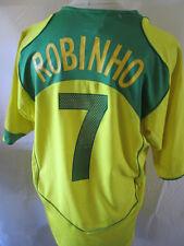 Brazil 2004-2006 Home Robinho 7 Football Shirt Size XL /34438