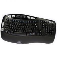 Logitech kabellose Tastatur K350 deutsches Layout (QWERTZ)