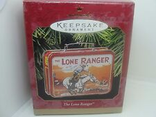 1997 THE LONE RANGER LUNCH BOX SET HALLMARK KEEPSAKE ORNAMENT